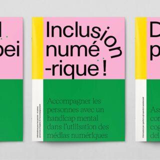 Das Bild zeigt die dreisprachige Broschüre «Digital Dabei!»