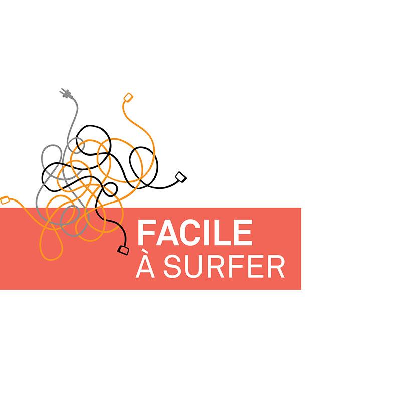 Logo de Facile à surfer
