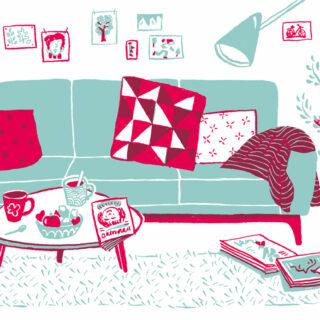 Illustration pour le projet parents-parrains.
