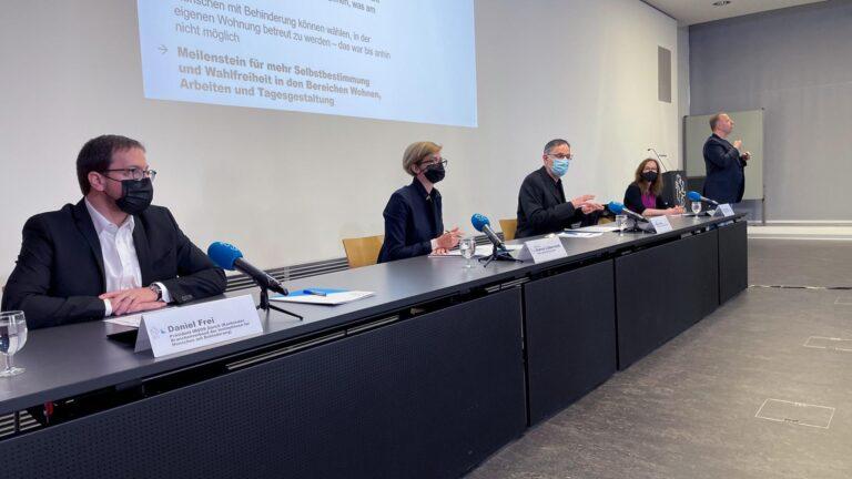 Conférence de presse du gouvernement zurichois