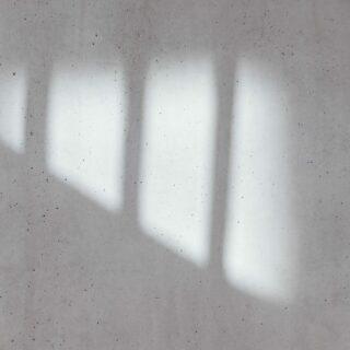 Weiss gestrichene Wand