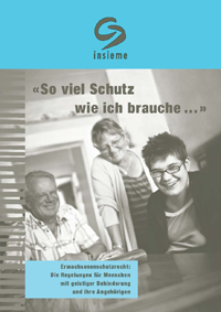 Cover Broschüre Erwachsenenschutz